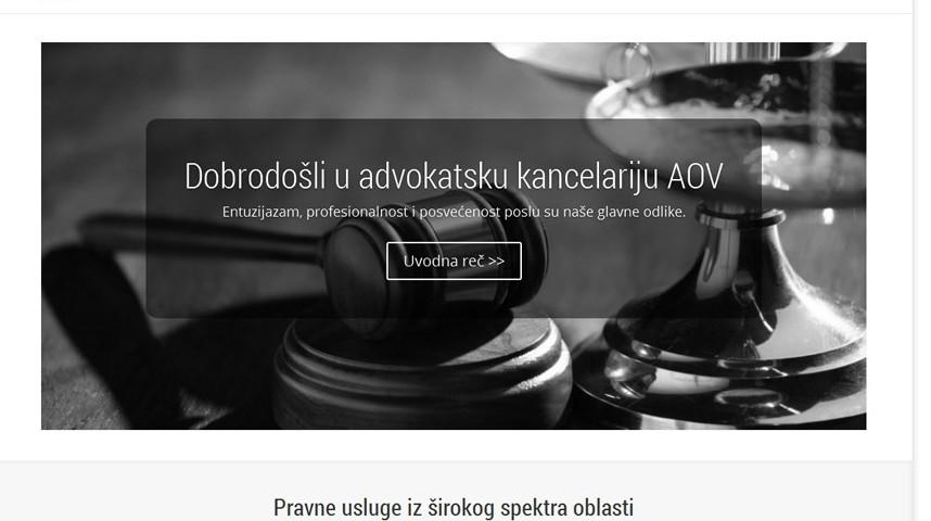 advokatska kancelarija AOV beograd