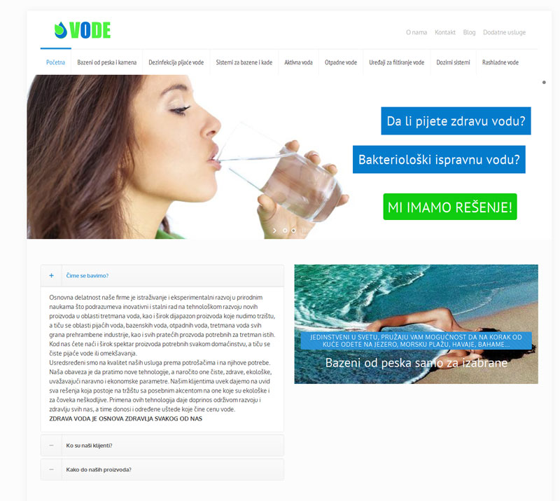 aqua crystal vode